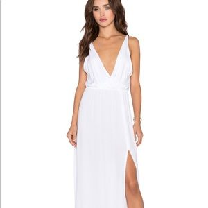 BLUE LIFE HIGH TIDE MAXI IN SOLID WHITE